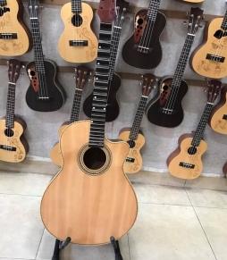 Đàn Guitar Cổ Gỗ Hồng Đào Kè Ty HD150