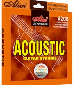 Acoustic Guitar Strings A208